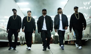 A still from Straight Outta Compton