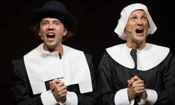 Party-pooping puritans … Foster and Spargo.