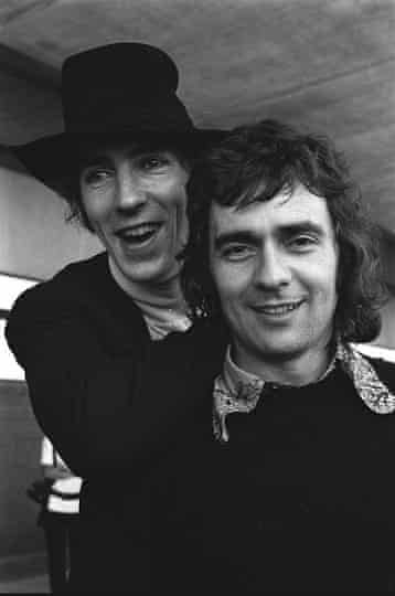 Pete and Dud in New Zealand in 1971.