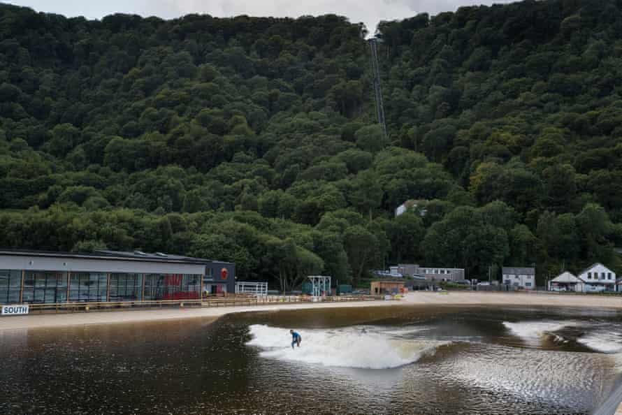 Surf Snowdonia's dramatic setting.
