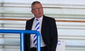 Gillingham chairman Paul Scally.