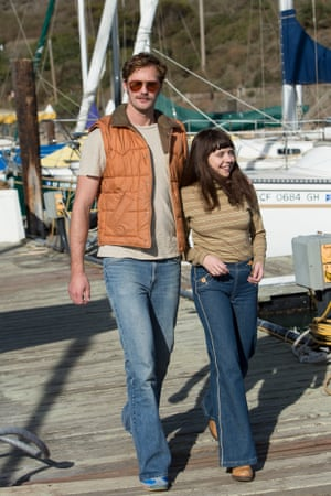 Alexander Skarsgård and Bel Powley in The Diary of a Teenage Girl.