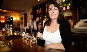 Portsmouth publican Karen Murphy, who had her conviction for illegally airing football matches quashed after the European Court ruled that live sport events are not 'intellectual creations'.
