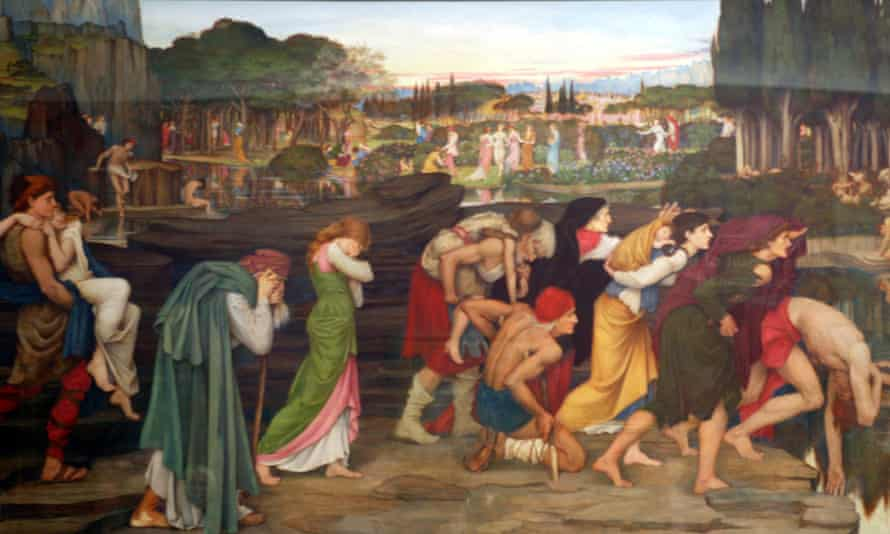 John Roddam Spencer Stanhope's 'The Waters of Lethe' 1880
