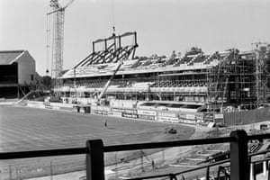 The construction of the East Stand at Stamford Bridge in the 1970s was described as 'the most ambitious ever undertaken in Britain.' However, the costs escalated out of control due to builders' strikes, a shortage of materials and a global economic crisis and, by 1977, the clubs was in financial trouble with debts at £4m.