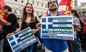 """In Rome """"we are all Greeks""""."""