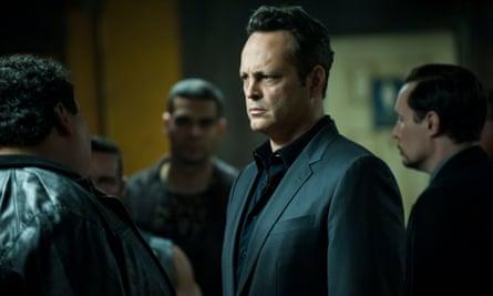 Vince Vaughn in True Detective.