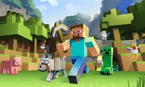 Minecraft's main character, Steve.