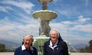 Sisters Catherine and Rita