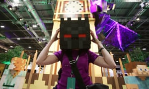 Minecon is showcasing all things Minecraft, from costumes to Ender Dragons.