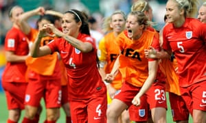 Mark Sampson hails 'awesome' England players after Germany