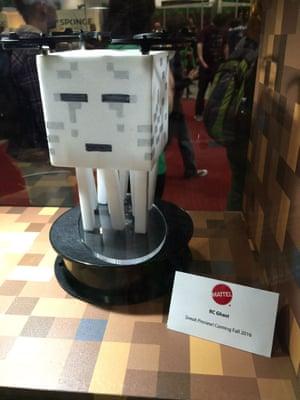 Mattel's RC Ghast quadcopter Minecraft drone.