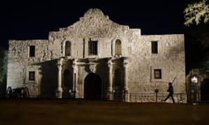 The Alamo in San Antonio world heritage site