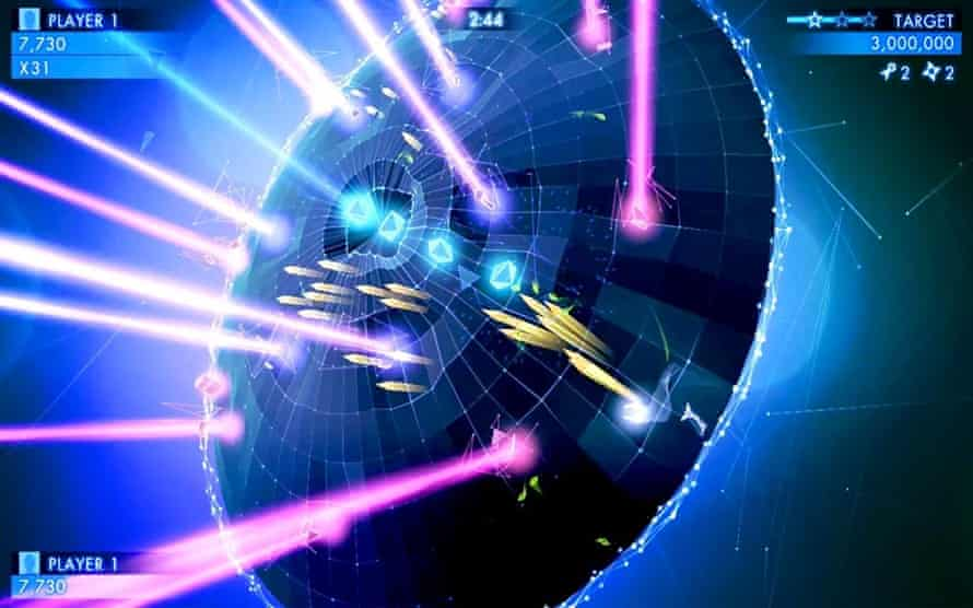 Geometry Wars 3 for Android.