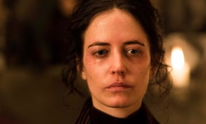 Doll double? No trouble. Eva Green as Vanessa Ives in Penny Dreadful.