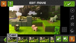 Minecraft Stop-Motion Movie Creator for iOS.