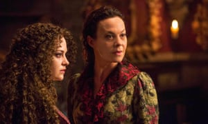 Poole sharks … Sarah Greene and Helen McCrory as Hecate and Evelyn Poole in Penny Dreadful.