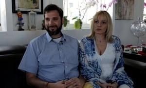 Chris Catrambone and his wife, Regina, who run Moas.