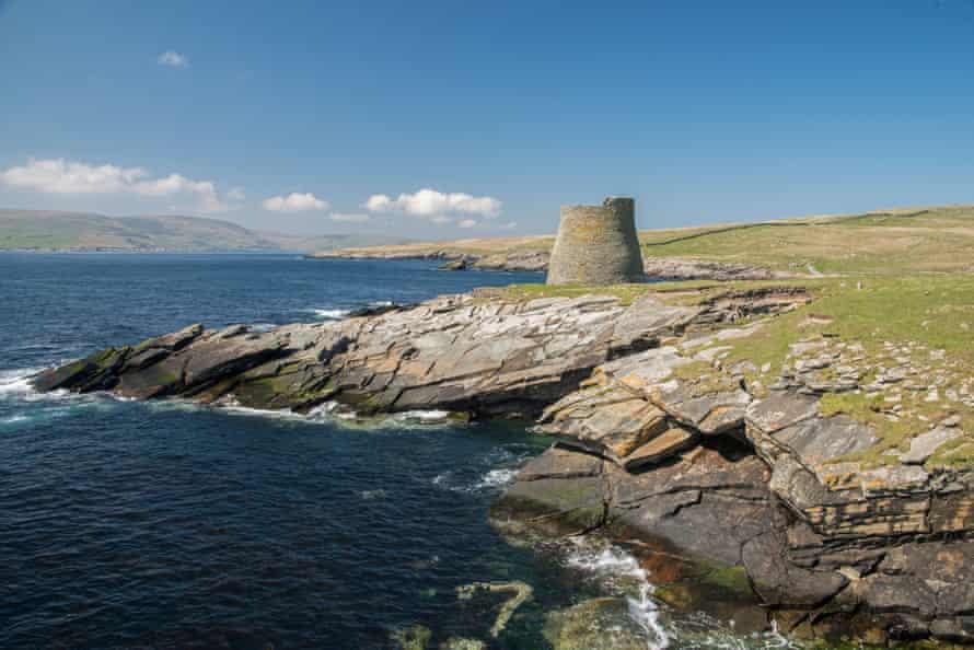 The isle of Mousa, Shetland.