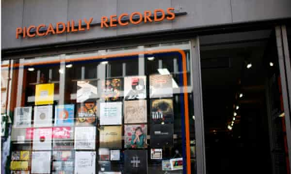 Piccadilly Records in Manchester