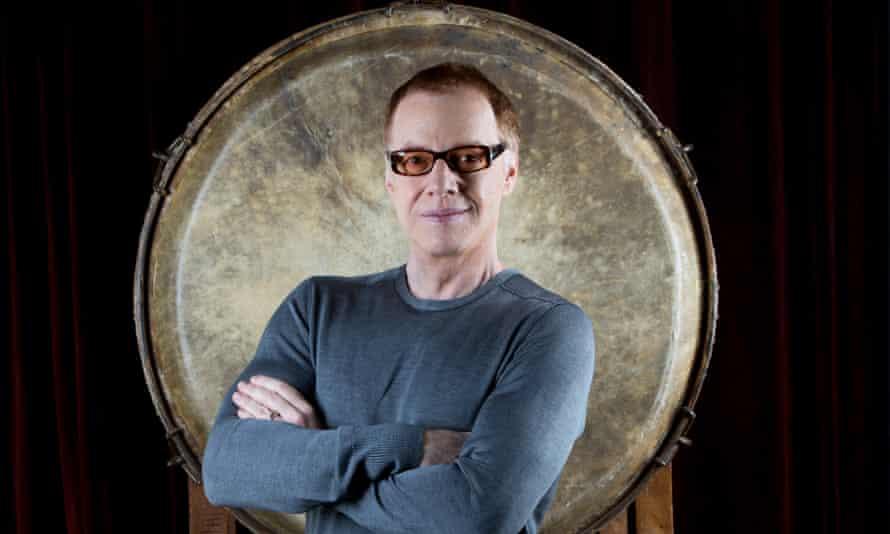Gong show: Danny Elfman in his studio in Los Angeles.
