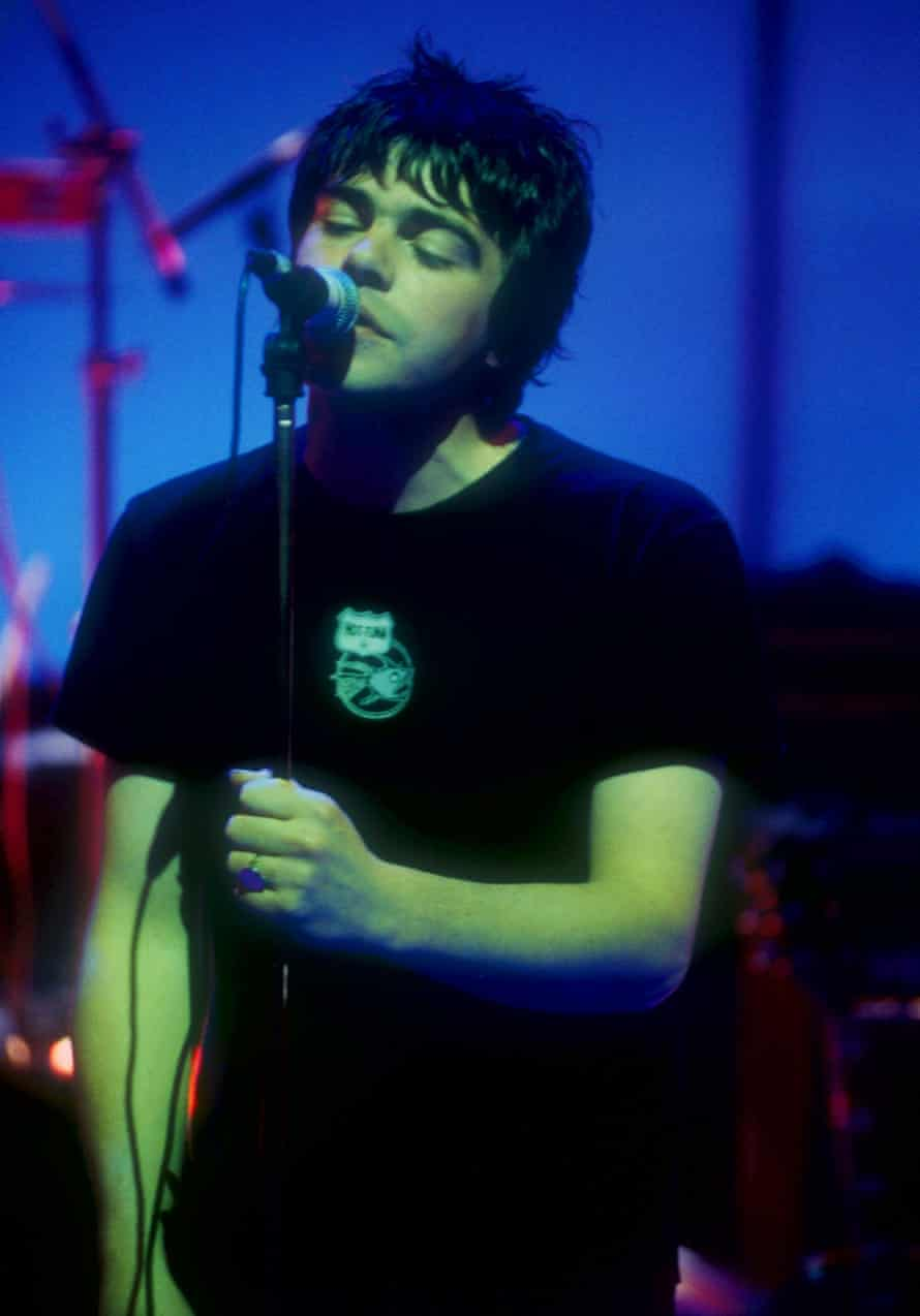 Tim Burgess on Later with Jools Holland in 1997