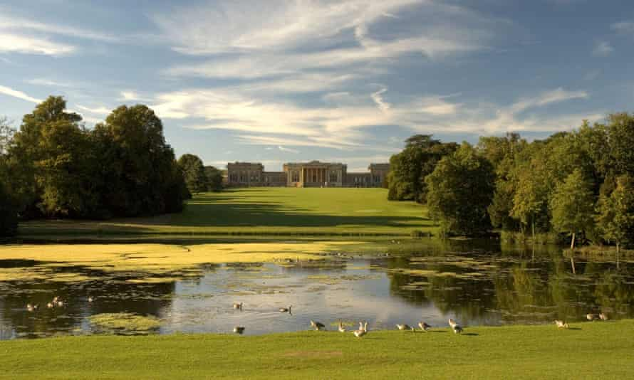 The grounds of Stowe House.