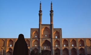 The Amir Chakhmagh mosque in Yazd, Iran.