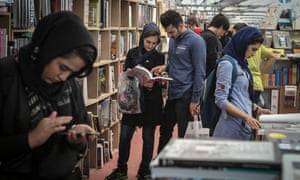 More than 2,400 Iranian and 2,800 foreign companies from 65 countries took part in the Tehran book fair in May.