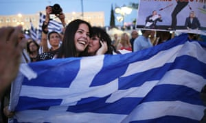 Greeks celebrate