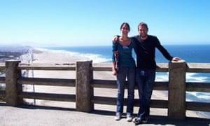 Ariane Janssen with her brother