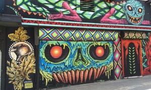 Graffiti in Rio Piedras, San Juan, Puerto Rico