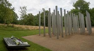 The 7/7 memorial in Hyde Park.