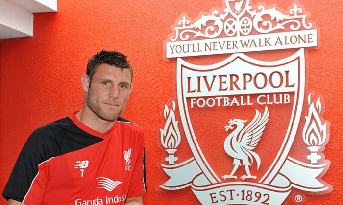 official photos cd061 21ab5 Liverpool's James Milner: central role promise was key to ...
