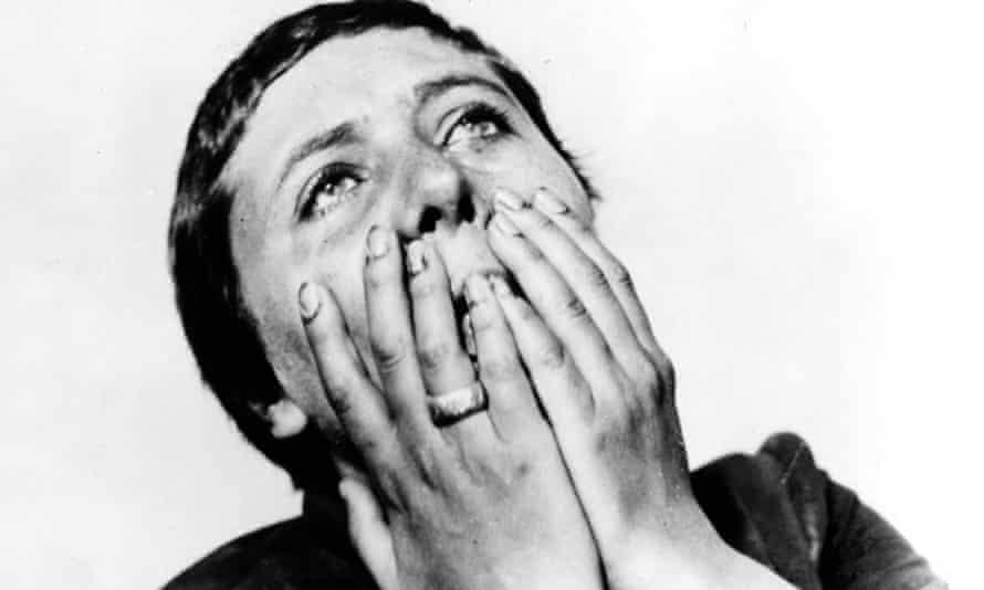 The Passion of Joan of Arc: Renée Maria Falconetti as Jeanne in Dreyer's classic silent film.