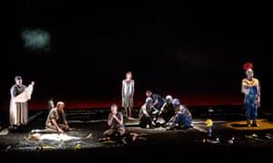 A scene from The Rape Of Lucretia by Benjamin Britten @ Glyndebourne.