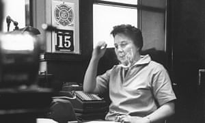 Harper Lee in her father's law office
