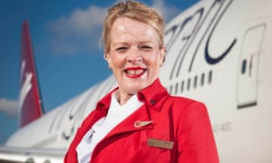 Katrine joins the cabin crew in Virgin Atlantic: Up In The Air