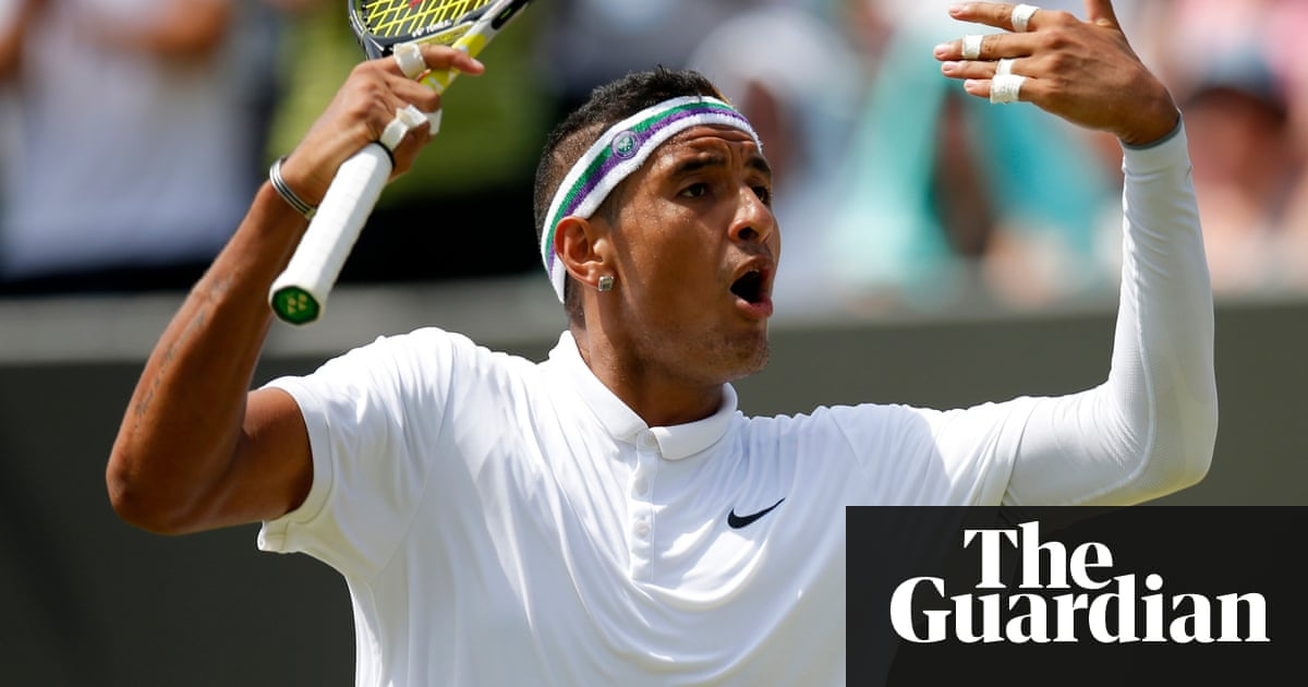 From Racket Smashing To Sarcastic Sock Changing Is Nick Kyrgios The
