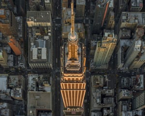 Photographer Jeffrey Milstein is known for taking a bird's-eye view of cities and residential areas with high-resolution camera equipment from the open door of a helicopter. He has now released these photographs of the Big Apple as part of a two new solo shows opening this week titled LANY, running concurrent in NYC and LA