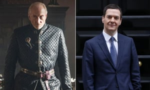 If George Osborne were in Game of Thrones he would be firmly House of Lannister, alongside Tywin.