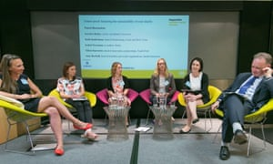 Panel at sustainability charity leaders live