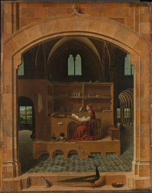 Saint Jerome in His Study, 1475, by Antonello da Messina, chosen by Canadian duo Janet Cardiff and George Bures Miller.
