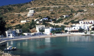 The Greek island of Agathonisi