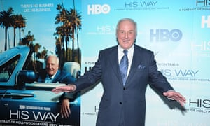 Jerry Weintraub at the screening of His Way, a documentary about his life, in 2011. Photograph: Michael Loccisano/Getty Images