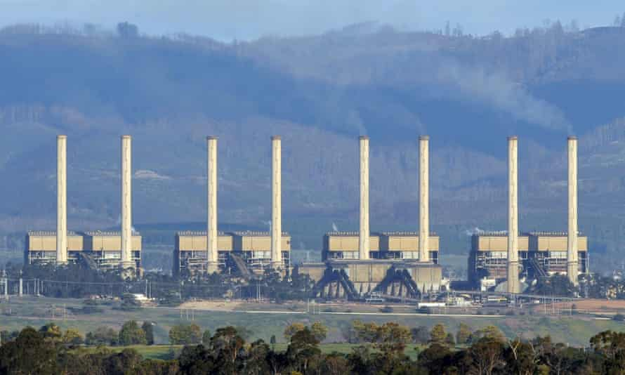 Hazelwood coal-fired power station in the Latrobe Valley.