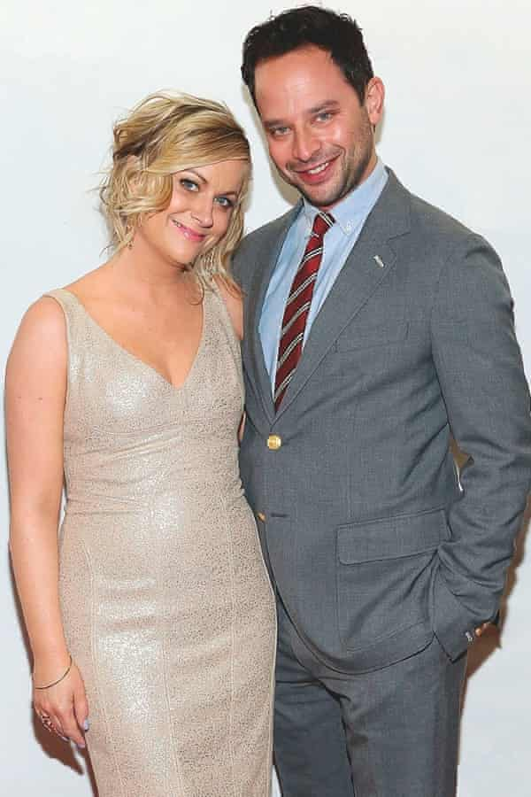 With boyfriend and fellow comedian Nick Kroll.