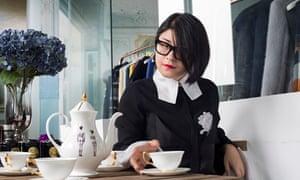 Masha Ma in her Shanghai studio