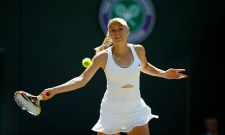 Denmark's Caroline Wozniacki
