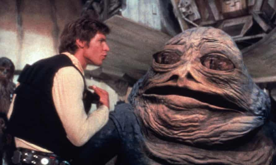 Han and Jabba the Hut